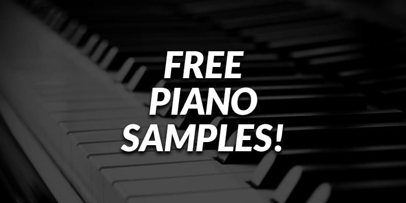Free Piano Samples! | Bedroom Producers Blog