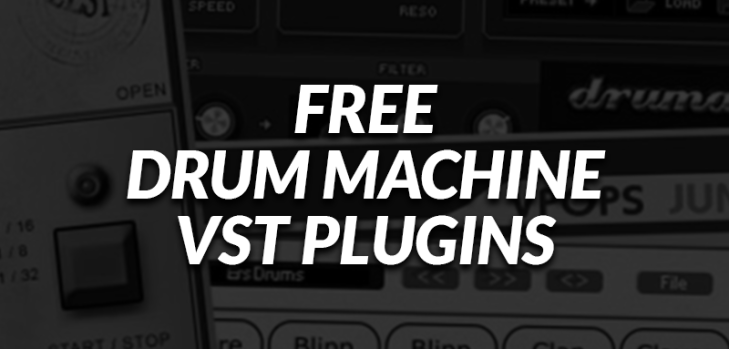 Free Drum Machine VSTi/AUi Plugins!