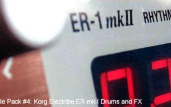 Korg Electribe ER-1 mkII Drum Sample Pack (Free Download)