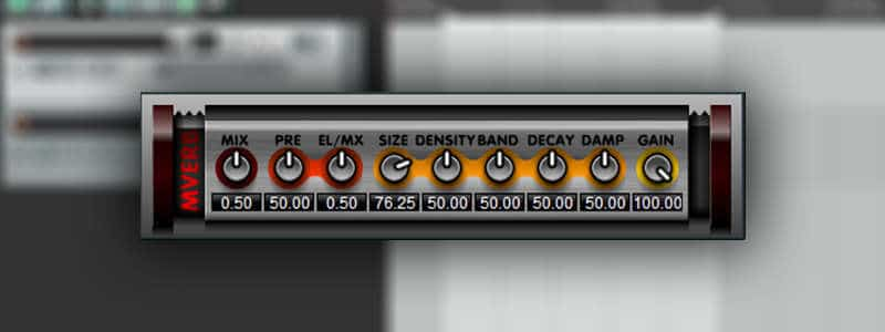 Mverb is an open-source reverb VST plugin by Martin Eastwood Audio.