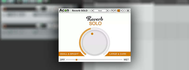 Reverb SOLO is a free reverb VST plugin by Acon Digital.