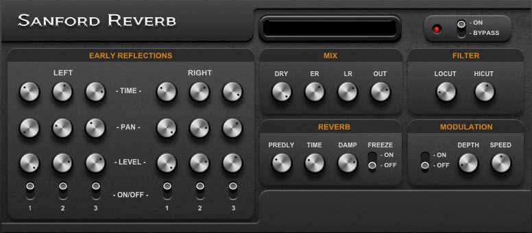 Sanford Reverb is a free reverb VST plugin by Leslie Sanford.