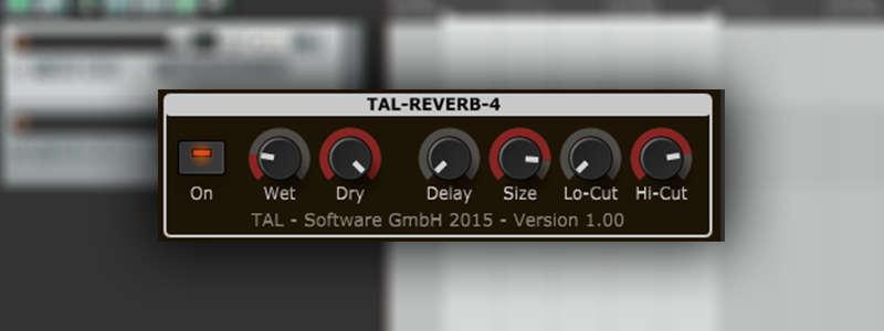 TAL-Reverb 4 is a free reverb VST plugin by Togu Audio Line.