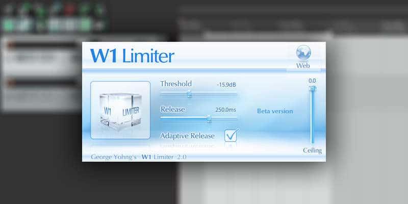 W1 Limiter by George Yohng (VST/AU/RTAS)
