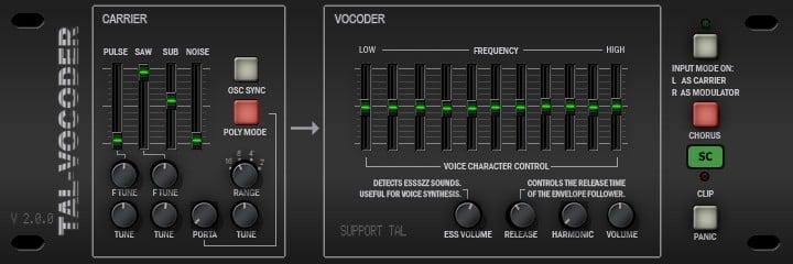 TAL-Vocoder by Togu Audio Line
