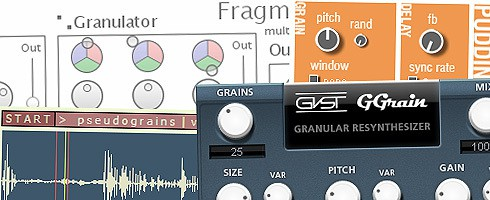 bpb Freeware Studio: Best Free Granulator VST/AU Plugins
