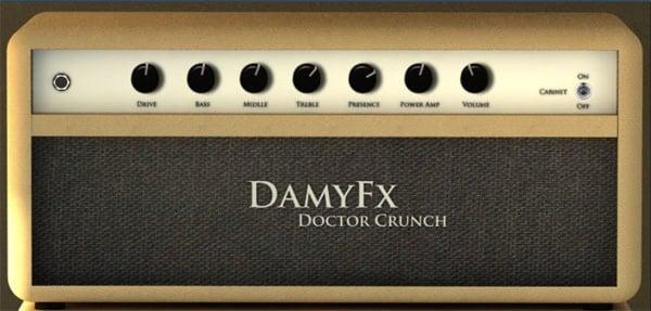 doctor crunch free guitar amp sim vst released by damyfx bedroom producers blog. Black Bedroom Furniture Sets. Home Design Ideas