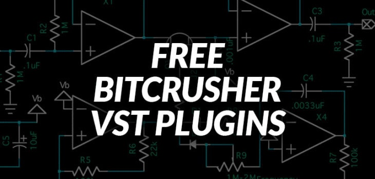 FREE Bitcrusher VST/AU plugins for Windows & Mac.