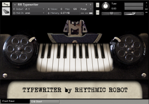 Typewriter by Rhythmic Robot.