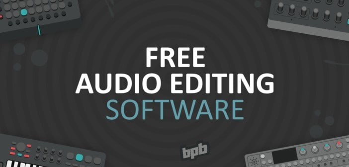 Audio Editing Software (Best Free Audio Editor)