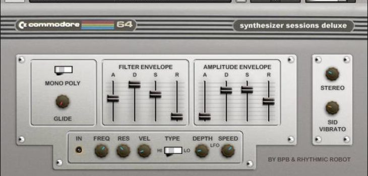 BPB Presents Commodore 64 Synthesizer Sessions DELUXE (FREE Sample Pack)