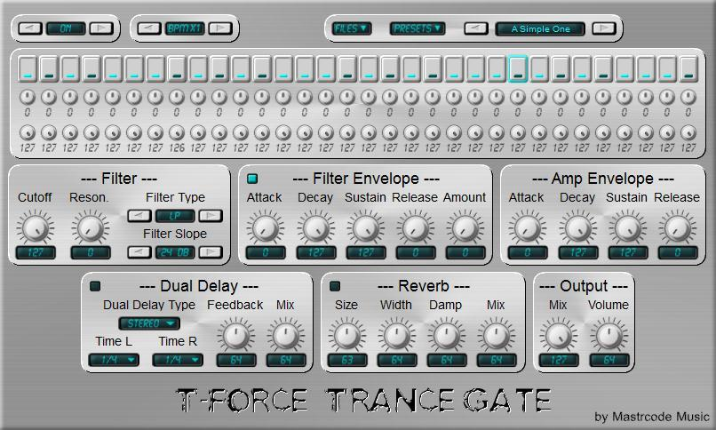 T-Force Trance Gate by Mastrcode Music.