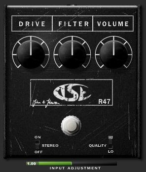 r47 free rat distortion pedal vst au plugin released by tse bedroom producers blog. Black Bedroom Furniture Sets. Home Design Ideas