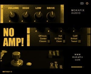 NoAmp! by Mokafix Audio.