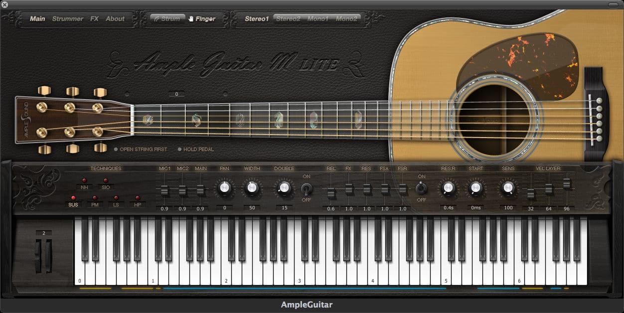 ample guitar m lite free acoustic guitar vsti au plugin by ample sounds bedroom producers blog. Black Bedroom Furniture Sets. Home Design Ideas