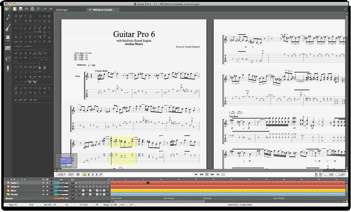 Get Guitar Pro 6 Lite Tablature Software Package For Free! - Bedroom Producers Blog