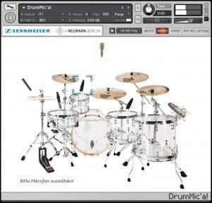 DrumMic'a by Sennheiser.