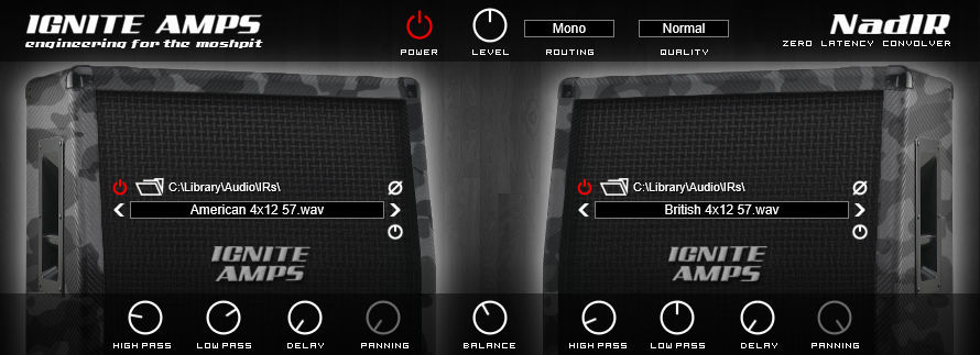 nadir a free impulse response loader released by ignite amps bedroom producers blog. Black Bedroom Furniture Sets. Home Design Ideas