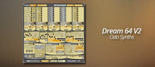 Dream 64 V2 by Odo Synths!