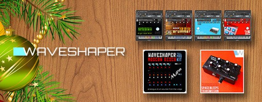 Drum Kits by Waveshaper!