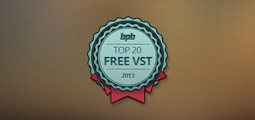 Top 20 Free VST Plugins Of 2013!