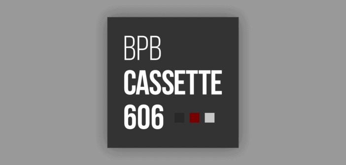 BPB Cassette 606 (Free 606 Drum Sample Pack)