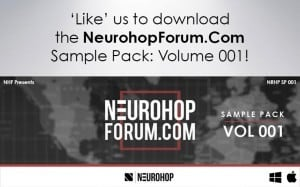 NHF Sample Pack 001 by Neurohop Forum.