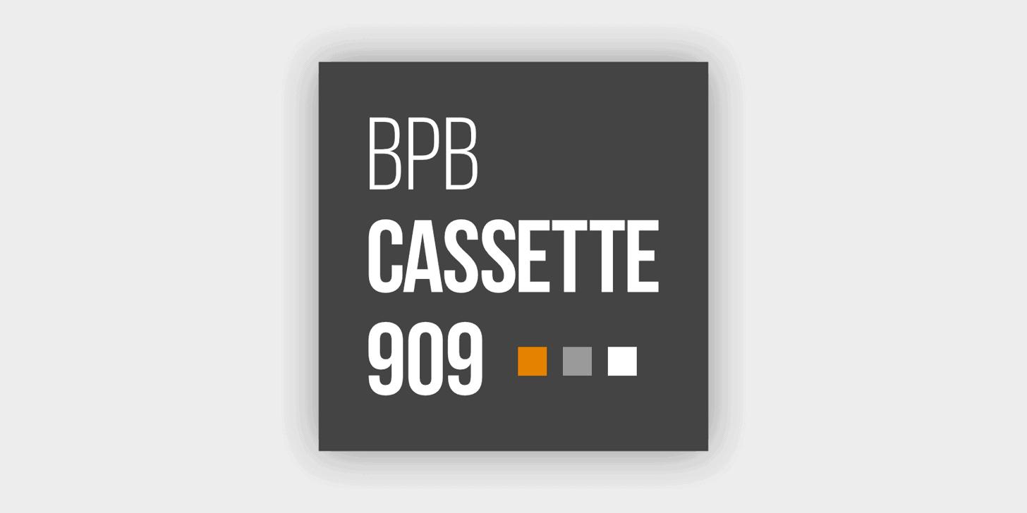 BPB Cassette 909 (Free 909 Drum Sample Pack)