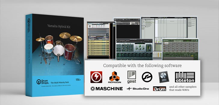 Free Yamaha Acoustic Drum Sample Library By Drumdrops!