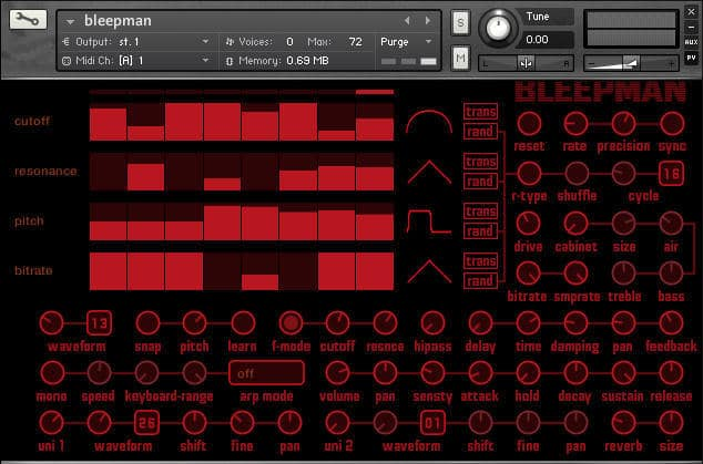 Bleepman by Fairly Confusing Waveforms.