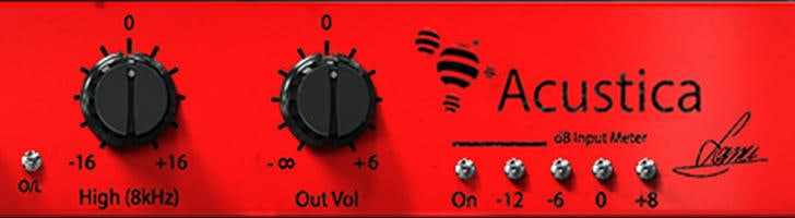 Red EQ by Acustica Audio.