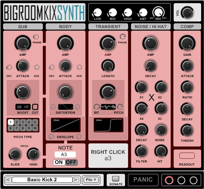 BIGROOMKIXSYNTH by Hinton & Fairchild.