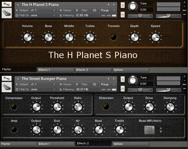 Free electric piano samples by Bigcat Instruments.