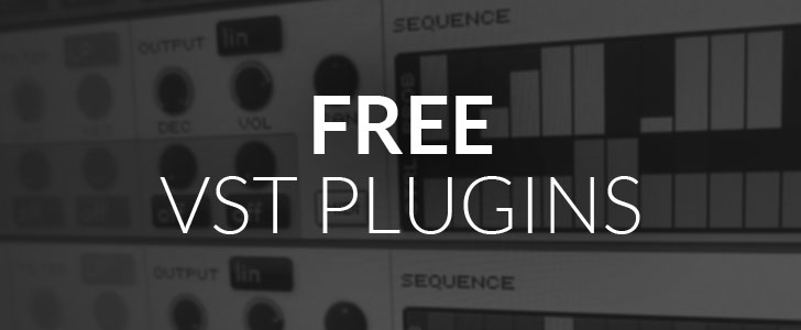 Free VST plugins for Windows & Mac.