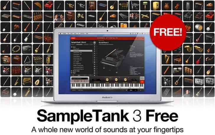 SampleTank 3 Free by IK Multimedia.