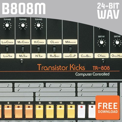 Free 808 Bass Drum Samples By The Boom Boutique (WAV)