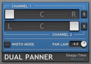 DualPanner VST Plugin By Sleepy-Time DSP!