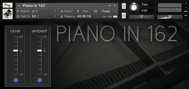 Piano in 162 by Ivy Audio.
