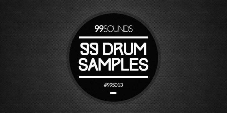 99 Drum Samples by 99Sounds.
