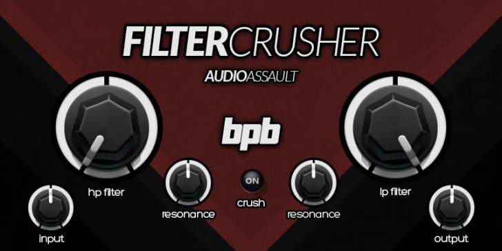 FilterCrusher by Audio Assault & Bedroom Producers Blog!