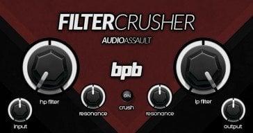FilterCrusher free VST/AU plugin!