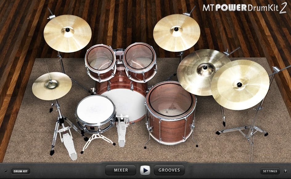 Mt powerdrumkit 2