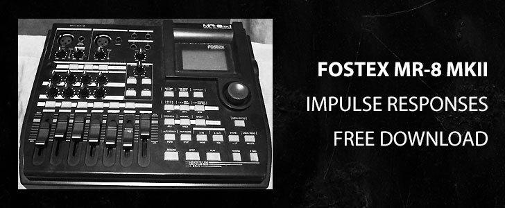 Free Fostex MR-8 mkII impulse responses by Animus Invidious.