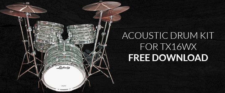 The Deepest Sampled Drum Kit In The World - 100% FREE!