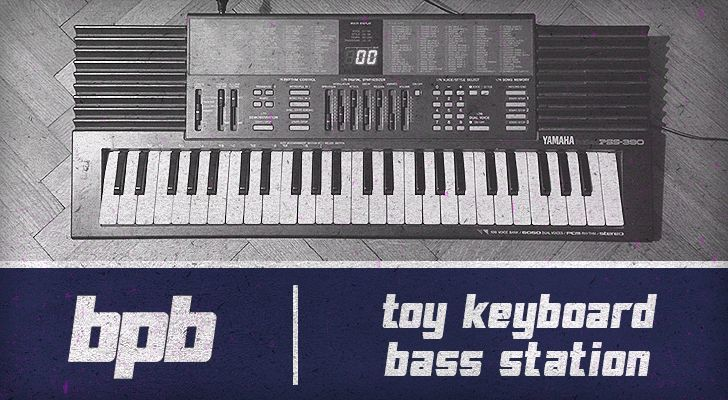 Toy Keyboard Bass Station (Free Download)