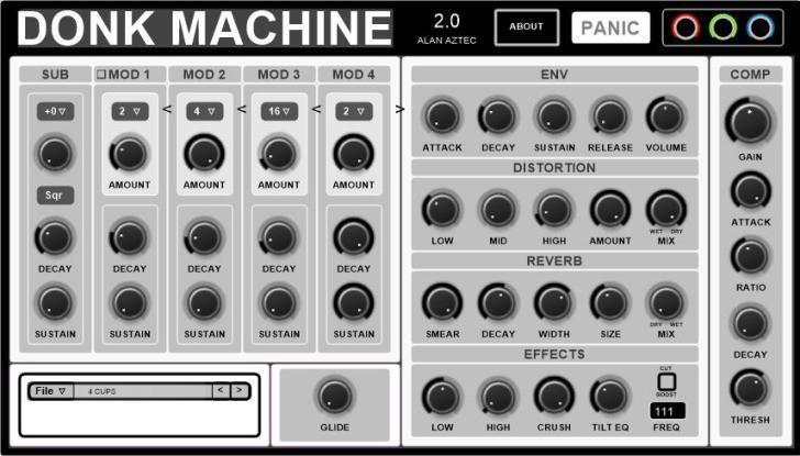 Donk Machine 2 by Hinton & Fairchild.