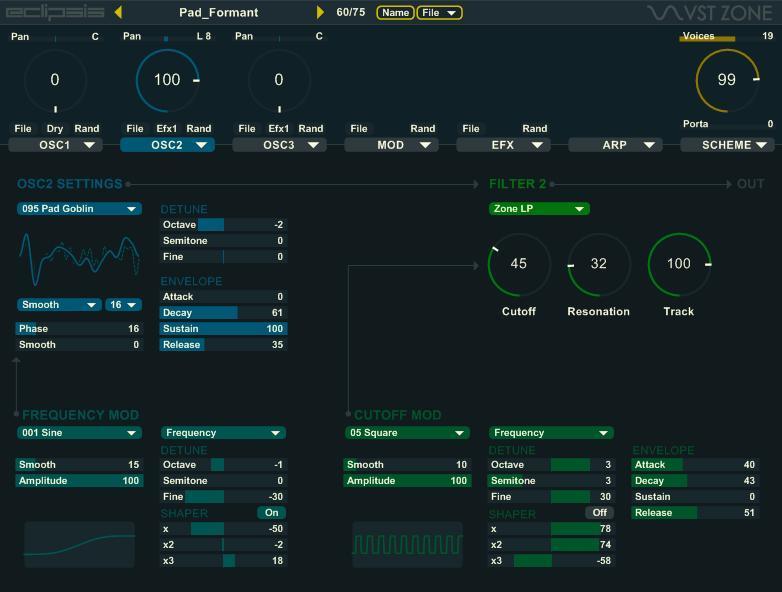 Eclipsis - Free Wavetable Synthesizer VSTi Plugin (32-bit)
