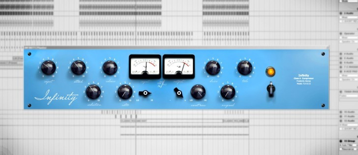 Infinity mastering compressor by Butz Audio Research.