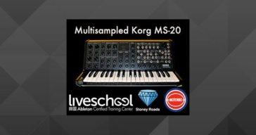 Free Korg MS-20 sample pack for Ableton Live.