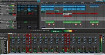 Here's what the latest edition of Mixcraft Pro Studio looks like.